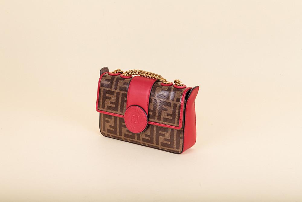 448f0735f60e Fendi Mini Zucca Spalmati Crossbody Bag